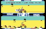ATV Simulator Commodore 64 Player one has completed the course