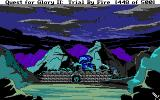 Quest for Glory II: Trial by Fire DOS Failure 2: Iblis awakens!