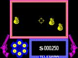 Gunfright ZX Spectrum Initial bonus. You have to properly manage your money.