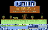 Super G-Man Commodore 64 Title screen