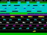 Hopper ZX Spectrum Notice the ambulance. The way stops circulating because of you!