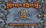 King's Quest II: Romancing the Stones Windows An opening screen familiar to fans of the series