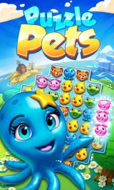 Puzzle Pets Android Title screen