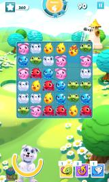 Puzzle Pets Android Making a match