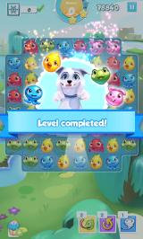Puzzle Pets Android Level completed
