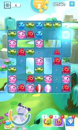 Puzzle Pets Android Clearing plenty of tiles