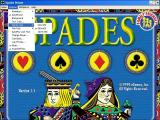 MVP Spades Deluxe Windows MVP Spades Deluxe is includes in a number of eGames' compilations as 'Spades'<br>There are lots of game configuration options tucked away in the menu bar