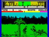 "Legend of the Amazon Women ZX Spectrum - Where's <i>Tarantino</i>? Now!! You are not going to prevent me from showing him my new project called ""Kill Cro, the Magnon"""