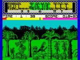 Legend of the Amazon Women ZX Spectrum ... and one of them just hit her feet.<br>