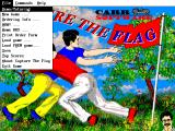 Capture the Flag DOS The title screen changed for the 1995 release (version 3.1)