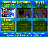 Emeraldia Arcade Three play modes to choose from