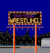Tag Team Wrestling Arcade Title screen (Data East release)