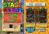 Tetris Plus Arcade The faster you clear a stage the more points you get