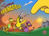 The Simpsons: Tapped Out iPad Splash screen Clash of Clones 2014 Event