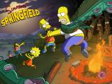 The Simpsons: Tapped Out iPad Splash screen for Treehouse of Horror XXVI Event (v. 4.17.X)