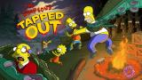 The Simpsons: Tapped Out iPhone Splash screen for Treehouse of Horror XXVI Event (v. 4.17.X)