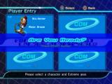 Sonic Riders: Zero Gravity PlayStation 2 Getting Ready and then Start Game!