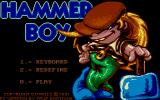 Hammer Boy DOS Title Screen (VGA)