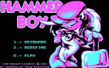 Hammer Boy DOS Title Screen (CGA)