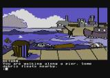 Mindshadow Atari 8-bit Take a long walk down a short pier...