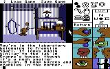 Tass Times in Tonetown Commodore 64 Snarl's lab.