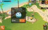 Minions Paradise Android A paradise piñata will provide party points over time (Dutch version).