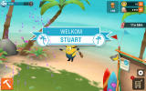 Minions Paradise Android Stuart arrives on the island (Dutch version).