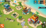 Minions Paradise Android Zoomed out view of my paradise (Dutch version)