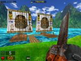 """Serious Sam: Gold Windows """"Dark Island"""" offers a choice of two different paths to the end of the episode."""