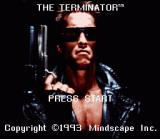 The Terminator SNES Title Screen