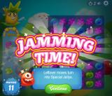 Jolly Jam Browser If you finish the level with leftover moves, it is jamming time.