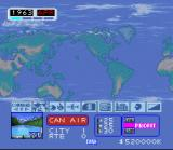 Aerobiz SNES Main Interface
