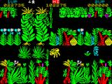 Sabre Wulf ZX Spectrum I got caught by the blue orchid's toxic perfume. The best of them. Invulnerable and speedy.