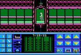 Impossible Mission II Apple II Starting the game in an elevator.