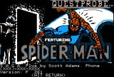 Spider-Man Apple II Splash