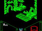 Knight Lore ZX Spectrum Break dance time (transforming into Sabreman).