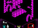 Knight Lore ZX Spectrum There's the serious possibility of one of those hitting the Wulf's head.
