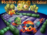 Rollin DOS Title screen