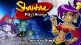 Shantae: Risky's Revenge iPhone Title screen.
