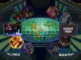 Mega Man X6 PlayStation Stage select screen.