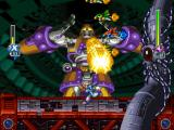 Mega Man X6 PlayStation Holy crap, giant shooting robot.
