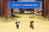 Disney Gravity Falls: Rumble's Revenge Browser Character selection