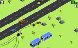 Smashy Road: Wanted Android A run with the hot rod
