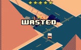 Smashy Road: Wanted Android Wasted with a five-star wanted rating