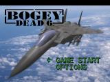 Bogey: Dead 6 PlayStation Main menu.