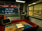 Bogey: Dead 6 PlayStation Game menu.