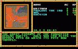 Gateway to the Savage Frontier DOS World map