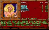 Treasures of the Savage Frontier DOS Lady with a trident