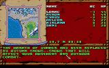 Treasures of the Savage Frontier DOS World map