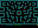 Muncher! ZX Spectrum Passing level 3.